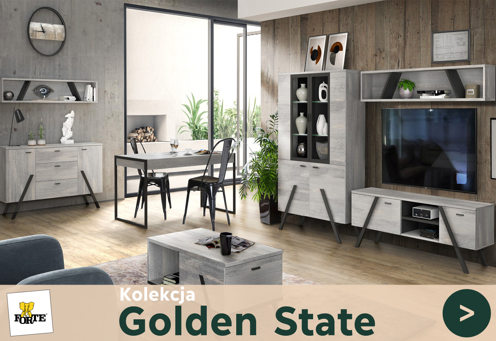 Meble Golden State - Ceny | Sklep internetowy Jumeble